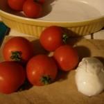 tomates à la mozzarelle